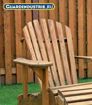 Защита и окраска садовой мебели. Пропитка лазурь на водной основе для дерева